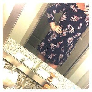 Peek a boo shoulder dress!